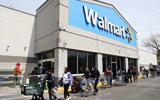 下週一開始 沃爾瑪要求所有進店顧客戴口罩