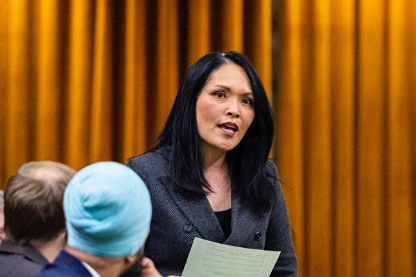 圖:5月25日,溫哥華東部選區國會議員關慧貞加入國際政要連署,反對中共推出的「港版國安法」。(拍攝:Bernard Thibodeau, House of Commons Photo Services)