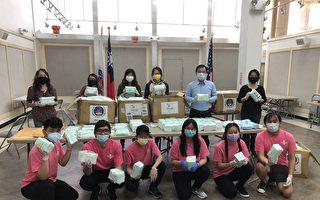 僑委會2萬片醫療口罩運抵紐約  供在臺無二親等僑民申領