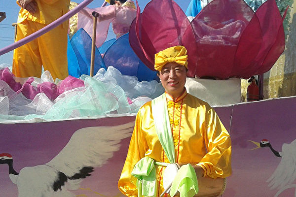 劉敏南,法輪功修煉者