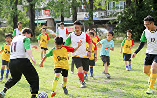 防疫新生活 Q聯盟足球隊踢出熱情與幸福