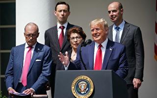 川普:对美中贸易协议看法有所改变