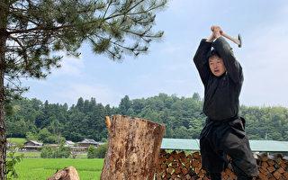 教忍術兼種菜 日本首位「忍者碩士」誕生