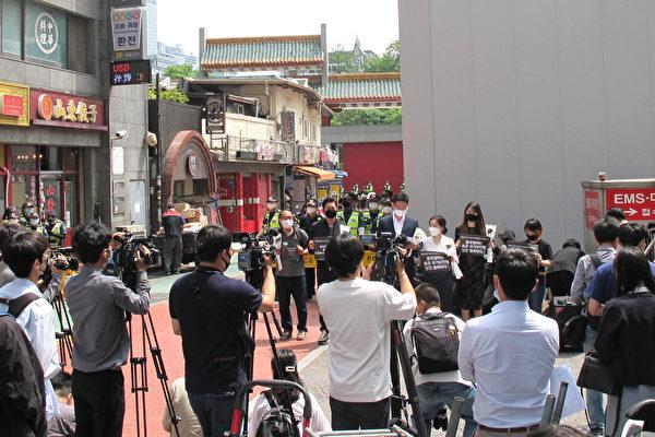 """纪念""""六四""""声援香港 韩国各界齐发声"""