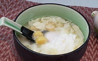 【梁廚美食】銀杏腐竹糖水~軟綿清甜 養顏美容