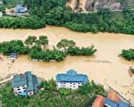 洪涝肆虐大陆南方 已致13省1216万人受灾