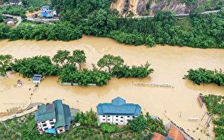 暴雨持續 長江流域發洪水 近兩千萬人受災