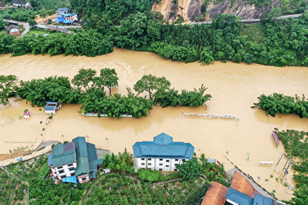 洪澇肆虐大陸南方 已致13省1216萬人受災