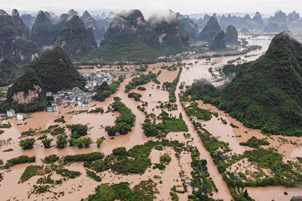 大陸洪災一個多月 長江中下游迎來最強降雨