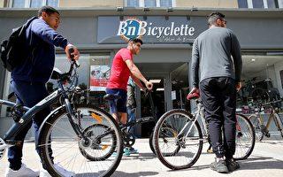 组图:自行车热卖 纽约销售比疫前暴增600%