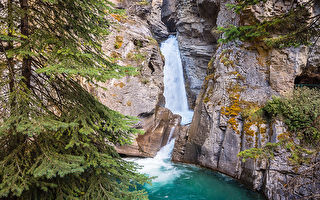 Lower Falls, Johnston Canyon, Banff, Banff National Park