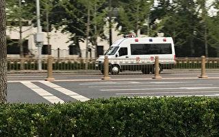 組圖:疫情爆發 北京人噤聲 街頭無人輔警不少