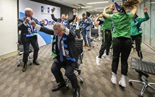 澳洲新西蘭贏得2023年女足世界盃主辦權