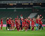 德甲第32轮,拜仁客场1:0战胜云达不莱梅