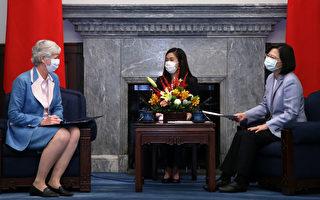 台英關係續深化 蔡英文盼協力挺香港