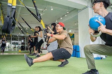 「一日職人無限可能—職場體驗計畫」一日健身教練體驗。