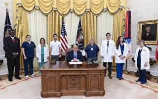 白宮發布川普年度體檢報告:總統很健康