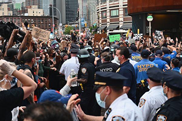 【紐約疫情5.31】抗議活動不影響紐約市重啟