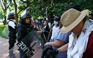美抗议活动蔓延 被指受极左团体操控劫持