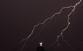 史上最长 巴西一道闪电跨越700公里