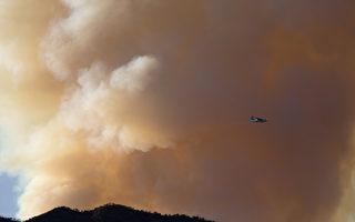 洛县北部周一爆发野火 蔓延86英亩