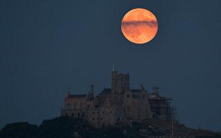 草莓月亮今晚登场 绚丽多彩本年度最美