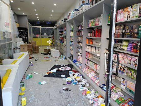 劫匪在中國街大藥房搶走大量阿片類(Opioid)處方止痛藥、興奮劑藥物。