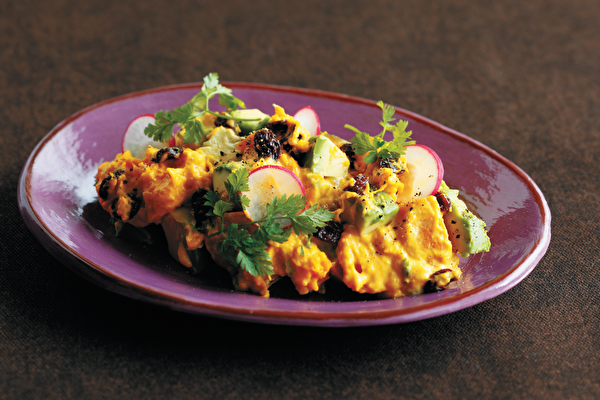南瓜酪梨沙拉~口感綿密 微甜清爽 夏日輕食料理