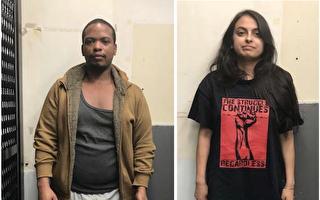 纽约两律师烧警车 联邦法官:极左激进分子