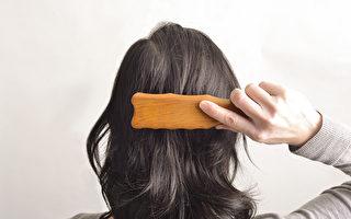 每天梳梳头 等于按摩全身!改善高血压、中风