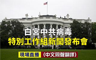 【重播】白宫特别工作组简报会:疫情反弹