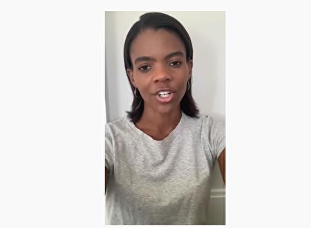 黑人保守派活动家Candace Owens在youtube上面大胆评论目前的游行。