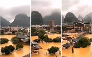 【一線採訪】遭遇洪災 廣西災民:政府不作為