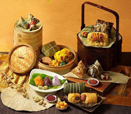 寧式東坡肉、紅燒獅子頭、老上海雪菜等外省菜風味融入粽子。