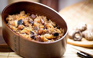 糯米不易消化,由糯米煮成的油飯,平時容易胃脹氣的人要少吃。(Shutterstock)