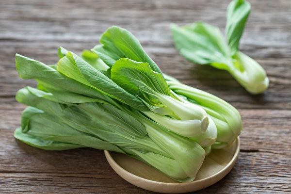 青江菜含有两种重要的营养素:β-胡萝卜素、硫化物。(Shutterstock)