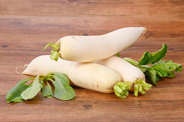 萝卜在医家看来,简直是个全才,从内用到外服,从食疗到药用,功效着实广泛。(Shutterstock)
