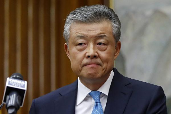回應港版國安法 英召見中共駐英大使劉曉明