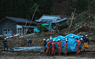 日本九州豪雨成災 老人院14人無生命跡象