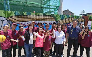 宜县首创合法涂鸦场域  在中兴文创园区