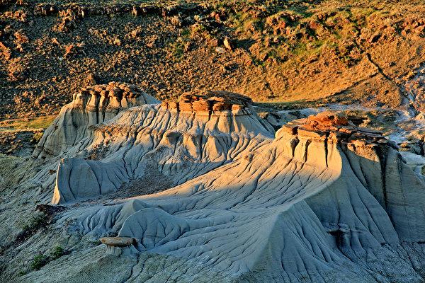 加拿大亞省恐龍公園,黃昏,Alberta Provincial Park, Alberta travel