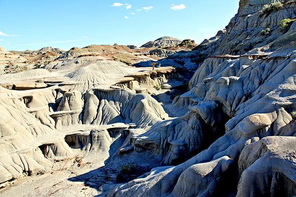加拿大亞省恐龍公園,奇形怪狀的地貌,Alberta Provincial Park, Alberta travel