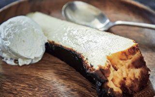人气咖啡馆甜点~传统风味巴斯克乳酪蛋糕