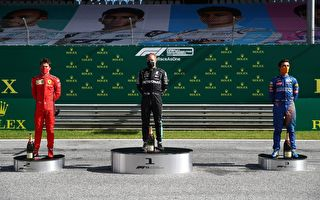 F1揭幕:梅奔奧地利站強勢 博斯塔捧盃