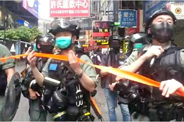 4派发人员7·1被捕 香港大纪元吁立即释放
