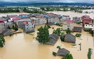 【一线采访】江西多地溃堤 鄱阳洪水超1998年