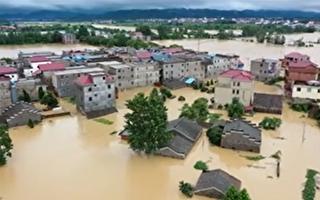 遭四路洪水夾擊 武漢或迎大洪峰