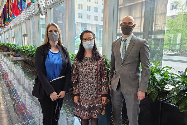 反迫害周年日 美国务院官员会见法轮功学员