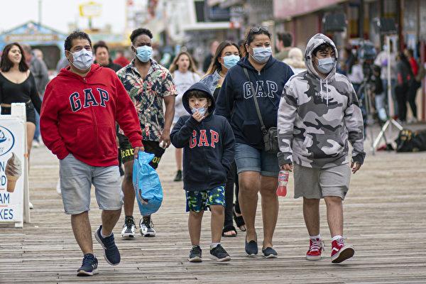 【新泽西疫情7.11】州长颁令 户外必须戴口罩