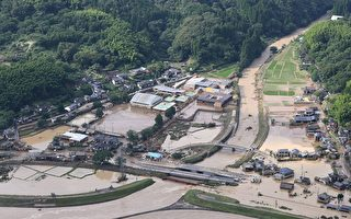 组图:日本熊本豪雨成灾 至少41人死亡
